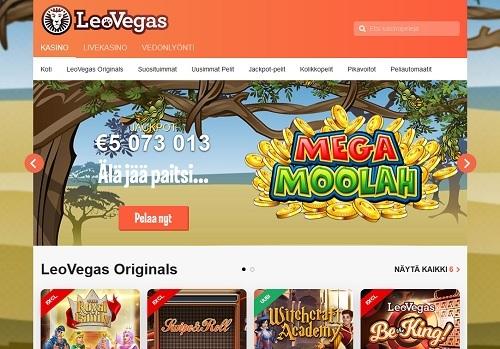 Leo Vegas casino kokemuksia ja bonus