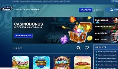 SuomiVegas on nettikasino, josta löydät kaikki kolikkopelit ja vedonlyöntiarean!