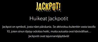 Rizkin Jackpot on jäätävä, mutta se vaatii malttia. Ja vähän valttia, ehkä tuuriakin hitusen!