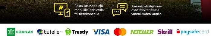 Skrill asiakaspalvelu palvelee suomeksi 24h / vrk ja rahan siirrot suntaan sekä toiseen pelaa nopeasti