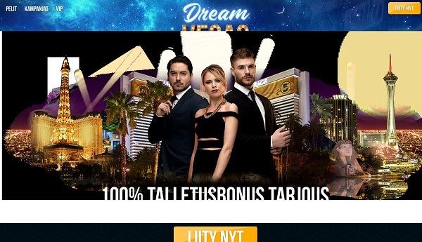 Dream Vegas Casino kokemuksia ja bonus