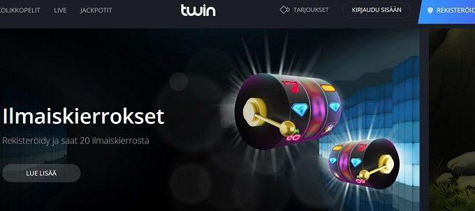 Twin Casino bonukset, pyöräytylset, kokemukset