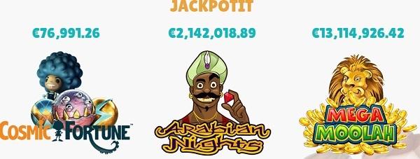 Cashmion bonuksilla pääset pelaamaan miljoonien jackpoteista